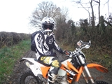 dirt bike  Riding Wales