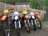 rm trail riding hire bikes