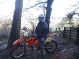 Trail Riding off road wales