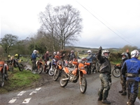 ruthin/Denbigh crew trail riding wales